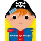 Plakken en kleuren - Piraat en zijn vriendjes