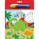 Kleuren met water - Dinosaurussen