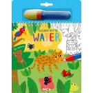 Kleuren met water - De natuur