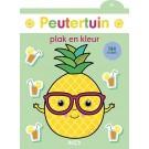 Peutertuin plak en kleur 3+ - Ananas