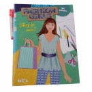 Tekendesigner boek - fashion girls  shop je mee?
