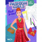 Tekendesigner boek - fashion girls feest je mee