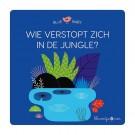 Puzzelboek - Wie verstopt zich in de jungle