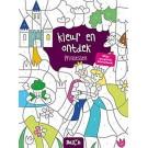Kleur en ontdek mijn magisch kleurboek - prinsessen