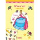 Kleur en versier - prinsessen
