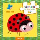 Puzzelboek voor kleine handjes - in de tuin