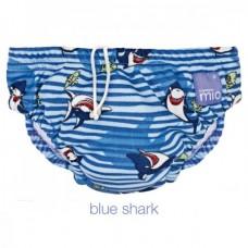 Zwemluier met streepjes en haaien