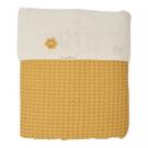 Oslo ochre/ pebble-kleurig deken ledikant/kinderbed (Geboortelijst Florien M.)