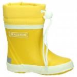 Bergstein winterboots yellow - gevoerde gele rubberlaarzen