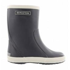 Bergstein rainboots dark grey-  Donkergrijze rubberen regenlaarzen