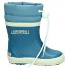 Bergstein winterboots jeans - gevoerde jeansblauwe rubberlaarzen