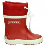 Bergstein winterboots red - gevoerde rode rubberlaarzen