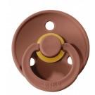 Bruinrode BIBS latex fopspeen 6-18m - woodchuck 32