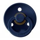 Donkerblauwe BIBS latex fopspeen 18m-+ Deep space 35