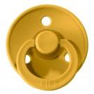 Mosterdgele BIBS latex fopspeen 18m+ - mustard 13