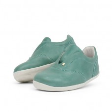 Groene schoentjes - Step up duke trainer teal (stapelkorting)
