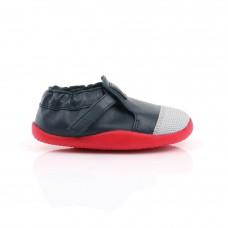 Blauwe schoentje met rood- xplorer navy/ red origin
