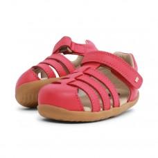Frambooskleurige kindersandaaltjes - Step up jump closed sandal watermelon