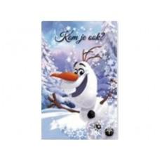 6 uitnodigingskaartjes Olaf frozen - Kom jij ook?