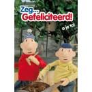 Wenskaart buurman en buurman - Zeg ...gefeliciteerd  a je toe