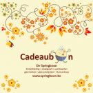 Cadeaubon (Geboortelijst Joa v. G.)