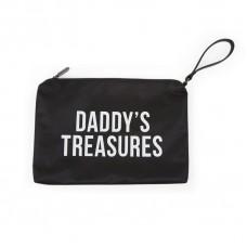 Zwart opbergtasje : daddy's treasures