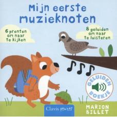 Geluidenboekje : Mijn eerste muzieknoten