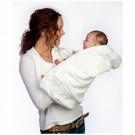Witte cuddledry - badcape /handdoek