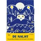 De nacht - een geweldig uitklapboek dat licht geeft in het donker