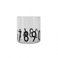 Doorschijnende beker met cijfers - Tritan glass cijfers special edition