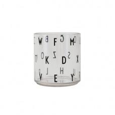 Doorschijnende beker met verschillende letters - Tritan glass personal drinking special edition