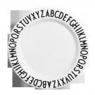 Groot melamine eetbord met letters