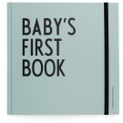 Baby's first book - muntgroen