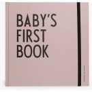 Baby's first book - oud roze