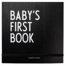 Baby's first book - zwart