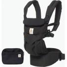 Zwarte ergonomische draagzak Omni 4P  - black