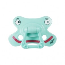 Fopspeen- dental speen groen met gezicht - Binki  6m+