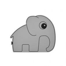 Anti- slip placemat grijze olifant