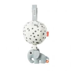 Muziektrekker luchtballon Elphee happy dots