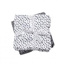 Set grijze tetradoeken stippen - dot grey