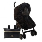 Zwarte regenhoes voor wandelwagen (Geboortelijst Henri H.)