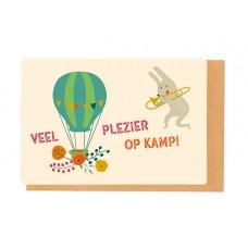 Wenskaart - Veel veel plezier op kamp! (2292)
