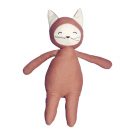 Knuffel buddy fox - clay