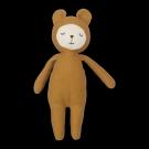 Mosterdgele knuffel - buddy bear