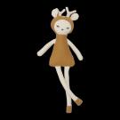 Mosterdgeel hertje met rammelaar -dream friend fawn  (Geboortelijst Lou V.)