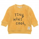 Lichtgele sponsen sweater - tiny mini cool