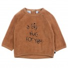 Bruinroze sponsen sweater - a big hug for you