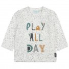 Wit shirtje play all day