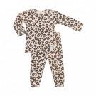 Tweedelige pyjama met tijgerprint - Peach limited edition