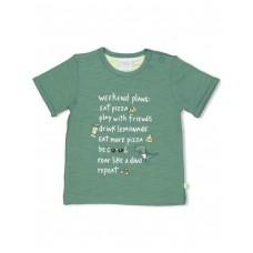 Groene t-shirt met opschrift - Green